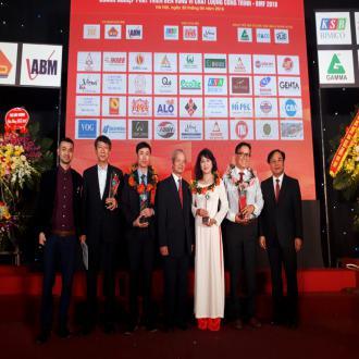 Gạch Ngói Đồng Nai - TUILDONAI được vinh danh Doanh nghiệp phát triển bền vững vì chất lượng công trình - BMF 2018