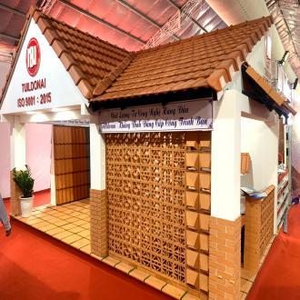 Công ty CP Gạch Ngói Đồng Nai tham gia Triển Lãm Quốc Tế VietBuild Đà Nẵng 2019