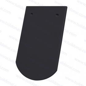 ROUND-CUT BIBBER ROOFTILE BLACK 499
